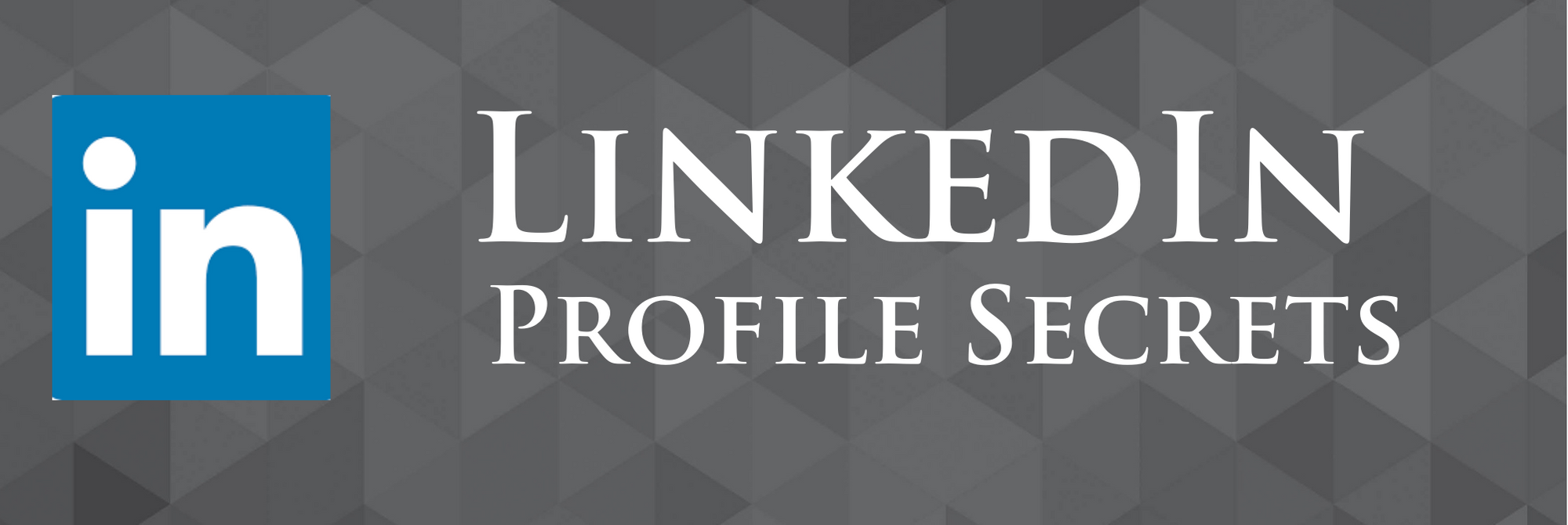 Building your personal LinkedIn profile
